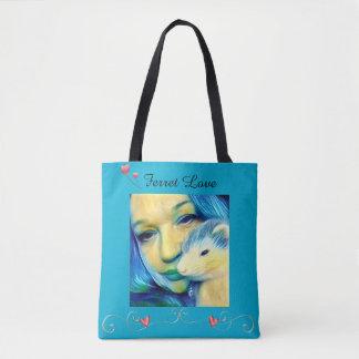 Tag Coils tote shopping bag