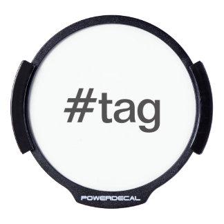 tag LED car decal