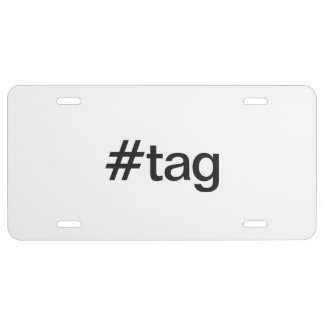 tag license plate