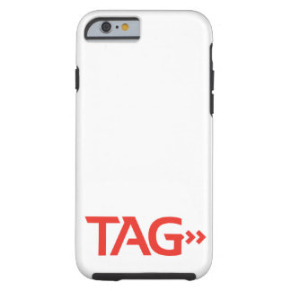 Tag Process Service Tough iPhone 6 Case