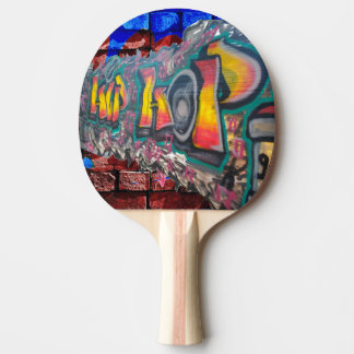 Tag Wall Ping Pong Paddle
