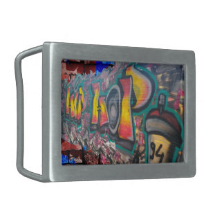 Tag Wall Rectangular Belt Buckles