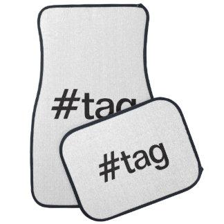 tag floor mat