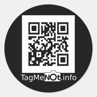 TagMeNotW-2000 Classic Round Sticker