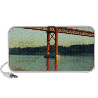 Tagus bridge Lisbon Portugal Mp3 Speakers