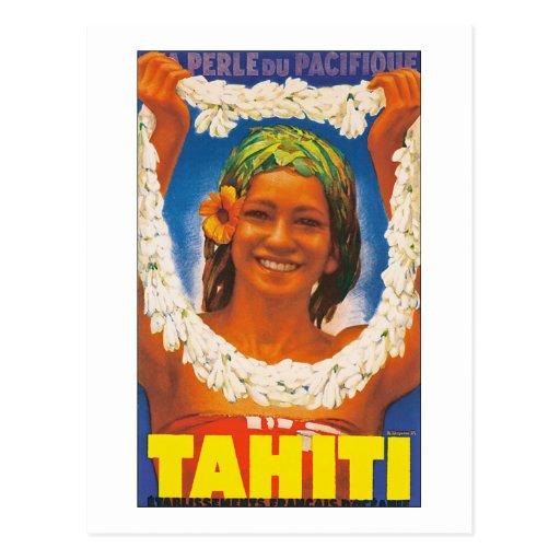 Tahiti ~ La Perle du Pacifique Postcards