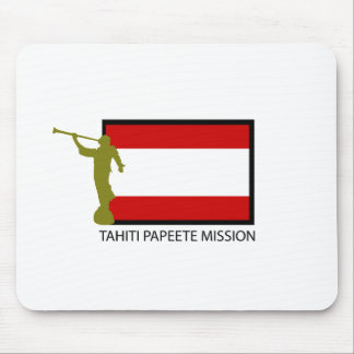 TAHITI PAPEETE MISSION LDS CTR MOUSE PAD