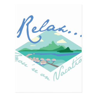 Tahiti Vacation Postcard