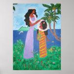 Tahitian Girls print