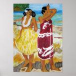 Tahitian Women Print
