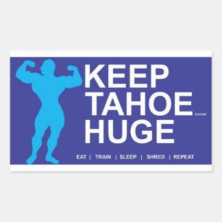 Tahoe Huge Rectangular Sticker
