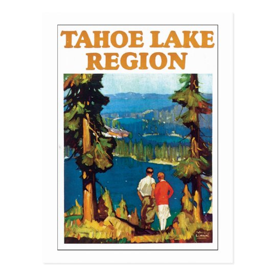 Tahoe Lake Region Postcard