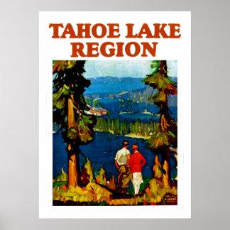 Tahoe Lake Region Poster