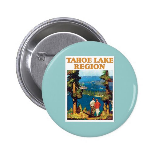 Tahoe Lake Region Vintage Buttons