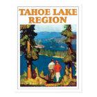 Tahoe Lake Region Vintage Postcard