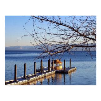 Tahoe Pier Postcard