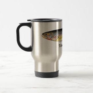Tahoe Trout Fish Travel Mug