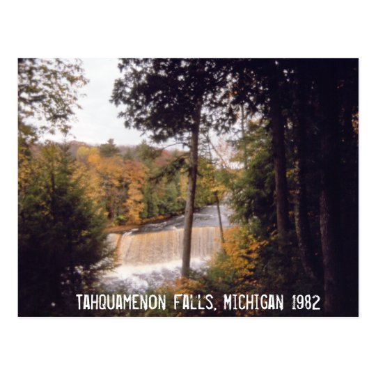 Tahquamenon Falls Michigan Postcard