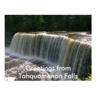 Tahquamenon Falls Postcard