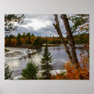 Tahquamenon River in Fall, Michigan Poster