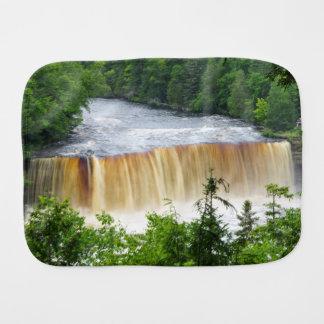 Tahquamenon Upper Falls Burp Cloth