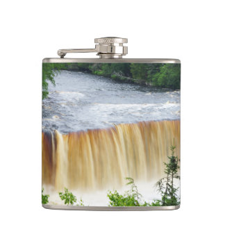 Tahquamenon Upper Falls Hip Flask
