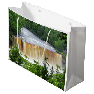 Tahquamenon Upper Falls Large Gift Bag