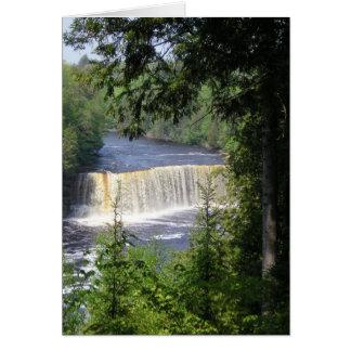 Tahquamenon Upper Falls Notecard