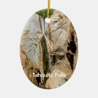 Tahquitz Falls Ceramic Oval Decoration