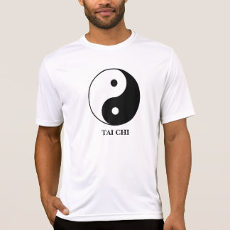 TAI CHI and YINYANG on Sport-Tek Competitor shirt