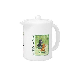 Tai Chi Cats Teapot
