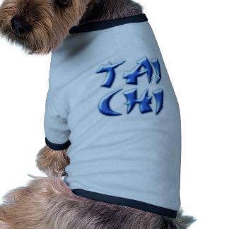 tai chi dog t-shirt