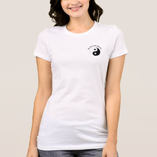 TAI CHI FOR HEALTH fitted women's T-Shirt