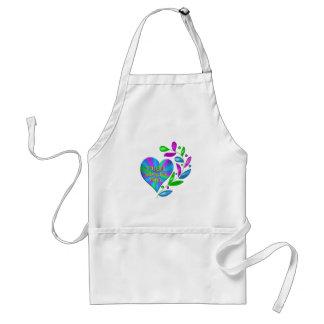 Tai Chi Happy Heart Standard Apron