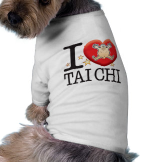 Tai Chi Love Man Doggie Tee Shirt