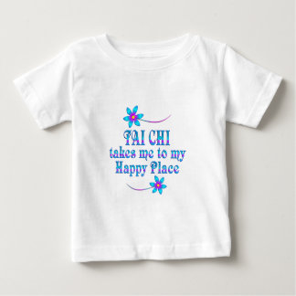 Tai Chi My Happy Place Baby T-Shirt