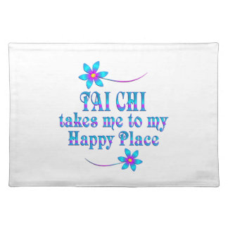 Tai Chi My Happy Place Placemat
