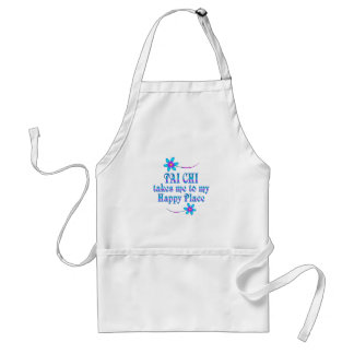 Tai Chi My Happy Place Standard Apron