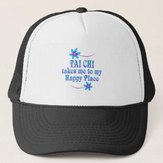 Tai Chi My Happy Place Trucker Hat