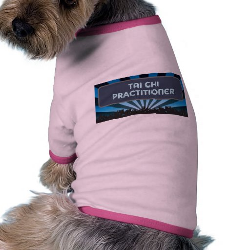 Tai Chi Practitioner Marquee Doggie Tee