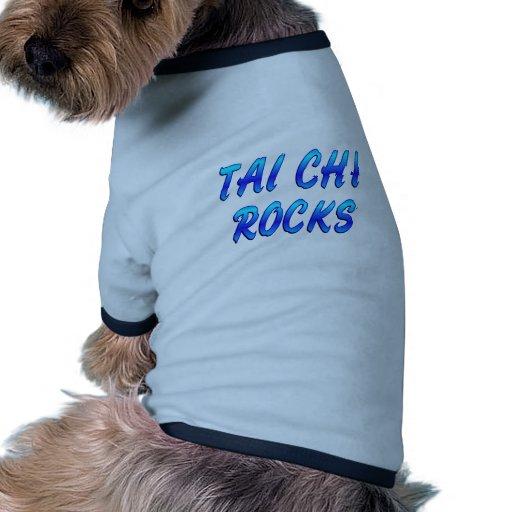 TAI CHI ROCKS PET T SHIRT