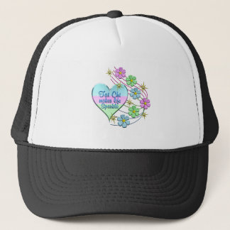 Tai Chi Sparkles Trucker Hat