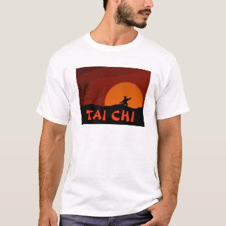 TAI CHI SUNSET MAN MONK COLOR T-Shirt