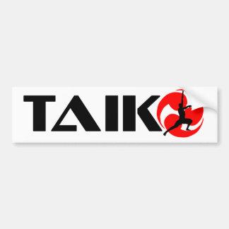 Taiko Guy (Design 3) Bumper Sticker