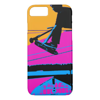 Tail Grabbing High Flying Scooter iPhone 8/7 Case
