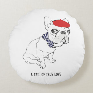 """""""Tail of True Love"""" Pillow"""