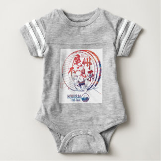 Tail state unique seeing field baby bodysuit