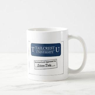 Tailcrest University (Blue) Basic White Mug