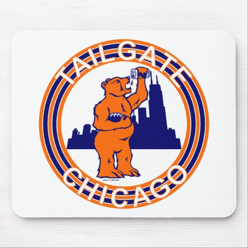 TAILGATE CHICAGO MOUSE PADS