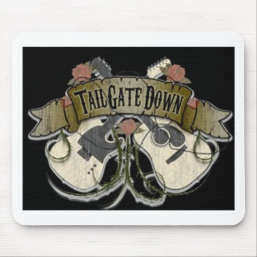 Tailgate Down Mouse Pad